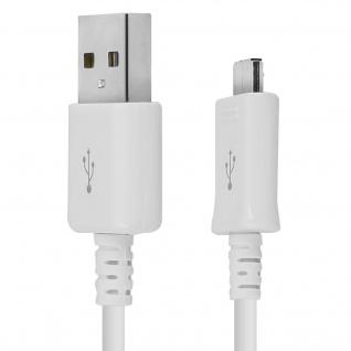 Original Samsung 1m USB/ Micro-USB Kabel - Aufladen & Synchronisierung - Weiß - Vorschau 4