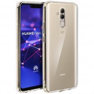 Crystal stoßfeste Schutzhülle + Bumper cover Huawei Mate 20 Lite - Transparent