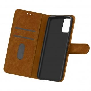 Flip Cover Geldbörse, Etui Kunstleder für Samsung Galaxy A32 5G ? Braun