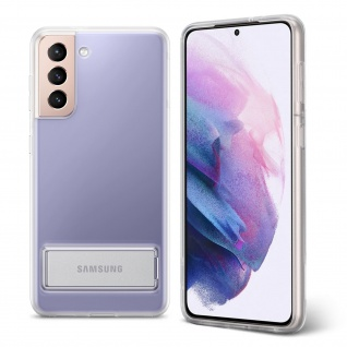 Original Samsung Clear Standing Cover für Samsung Galaxy S21 Plus ? Transparent