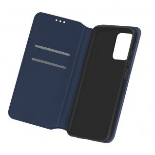 Kunstleder Cover Classic Edition für Samsung Galaxy A72 â€? Dunkelblau