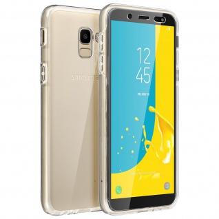 Schutzhülle für Vorder- und Rückseite für Samsung Galaxy J6 ? Transparent