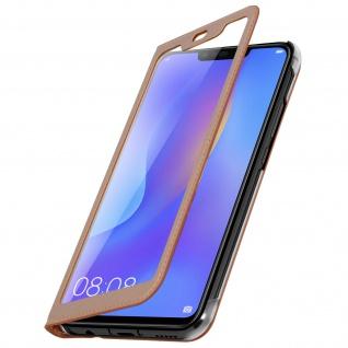 Smart View Flip Cover, Klappetui für Huawei P Smart Plus - Rosegold - Vorschau 2