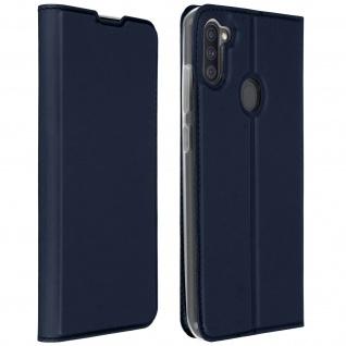 Klappetui mit Kartenfach & Standfunktion Samsung Galaxy A11 - Dunkelblau