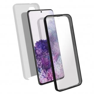 Schutzhülle für Samsung Galaxy S20, Vorder- + Rückseite ? Silber