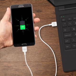 Original Samsung 3A USB/ USB 3.0 Ladekabel 1m ? Ref.: ET-DQ11Y0WE ? Weiß - Vorschau 4