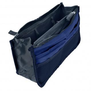 Universelle Tasche mit vielen Fächern - Dunkelblau