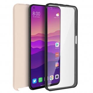 Schutzhülle für Xiaomi Mi 10T / Mi 10T Pro, Vorder- + Rückseite ? Rosegold