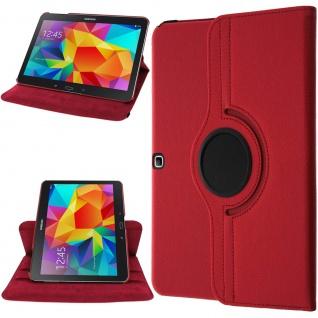 Galaxy Tab 4 10.0 T530 Multi-Winkel Schutzhülle Rot ? 360° drehbare Halterung