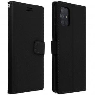 Samsung Galaxy A71 Flip-Cover mit Kartenfächern & Standfunktion â€? Schwarz