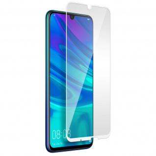 Kratzfeste Glas-Displayschutzfolie für Huawei P Smart 2019 /Honor 10 Lite - Weiß
