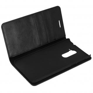 Flip-Cover im Brieftaschenstil für Honor 6x â€? Schwarz â€? Standfunktion