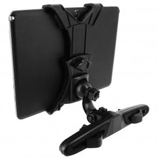Universal KFZ-Halterung Tablets 7'' bis 11'' - Kopfstütze-Befestigung - Schwarz - Vorschau 2