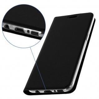 Flip-Cover Brieftaschenstil Samsung Galaxy S8 Plus & Standfunktion � Schwarz