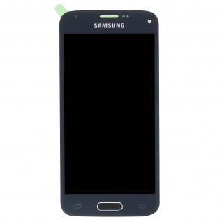 Original Samsung LCD Komplettset mit Touchscreen für Galaxy S5 Mini - Schwarz - Vorschau 2