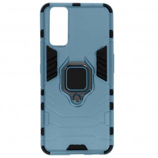 Stoßfeste Handyhülle Vivo Y20s mit Ring-Halterung ? Blau
