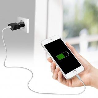 Devia Lightning / USB Ladekabel, Aufladen & Sync., Kabellänge 2m ? Weiß - Vorschau 3