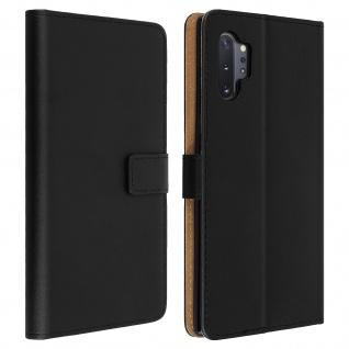 Samsung Galaxy Note 10 Plus Cover aus Kunstleder mit Standfunktion� Schwarz