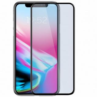 Apple iPhone X Displayschutzfolie aus Glas Blaulicht Schutz Baseus - Schwarz