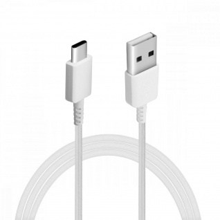 Original Samsung EP-DR140AWE USB-C / USB Ladekabel, Kabellänge 80cm - Weiß