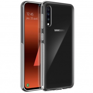 360° Protection Pack für Galaxy A70: Cover+ Displayschutzfolie, Transparent