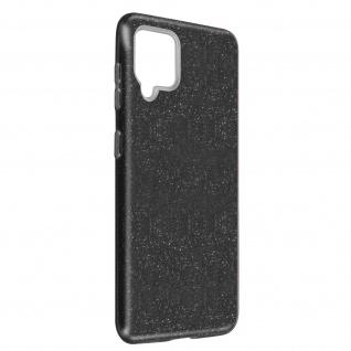 Schutzhülle, Glitter Case Samsung Galaxy A42 5G, shiny & girly Hülle â€? Schwarz