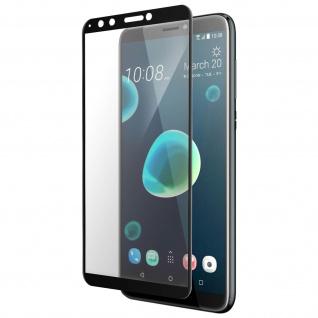 9H Härtegrad Imak Glas-Displayschutzfolie für HTC Desire 12 Plus - Schwarz