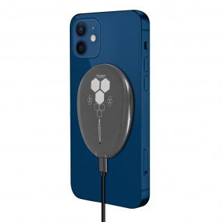 Magsafe 15W Ladegerät, Schnelles Aufladen iPhone 12, magnetisch â€? Schwarz