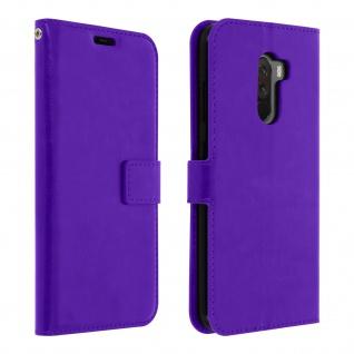 Flip Stand Cover Brieftasche & Standfunktion Pocophone F1 - Violett