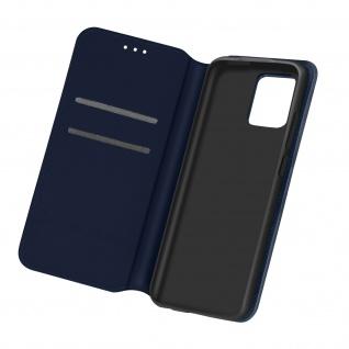 Kunstleder Cover Classic Edition für Samsung Galaxy A02s â€? Dunkelblau