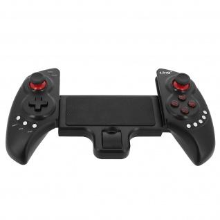 Kabelloser Bluetooth-Gamecontroller, verstellbar, wiederaufladbar, LinQ Schwarz