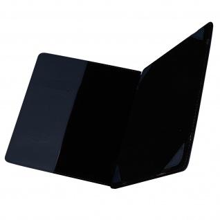 Universal 10 Zoll Tablet Hülle mit Fächern & Standfunktion, Blun - Dunkelblau