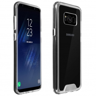 Cristal Hybrid Schutzhülle, Backcover für Samsung Galaxy S8 Plus - Transparent