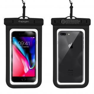 Spigen A600 IPX8 wasserdichte Handyhülle für Smartphones ? Schwarz