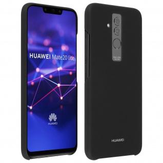 Original Huawei Schutzhülle für Huawei Mate 20 Lite, Glossy Case - Schwarz