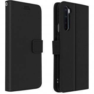 OnePlus Nord Flip-Cover mit Kartenfächern & Standfunktion ? Schwarz