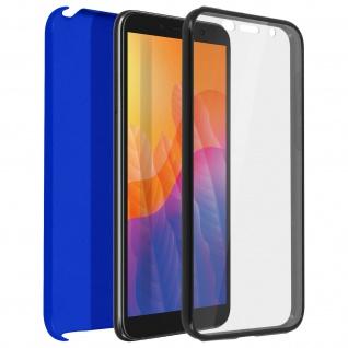 Schutzhülle für Huawei Y5p, Vorder- + Rückseite ? Blau