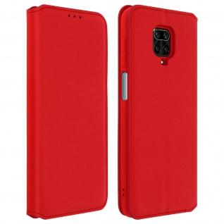 Classic Edition Etui Xiaomi Redmi Note 9S/Note 9 Pro/Note 9 Pro Max - Rot
