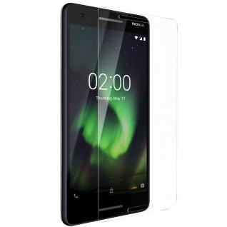 Displayschutzfolie aus gehärtetem Glas für Nokia 2.1 - 9H Härtegrad