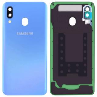 Ersatzteil Akkudeckel, neue Rückseite für Samsung Galaxy A40 - Blau