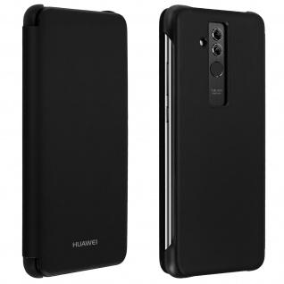 Original Huawei Flip Cover für Huawei Mate 20 Lite Rundumschutz - Schwarz