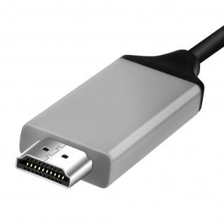 USB-C auf HDMI- Kabel Samsung Galaxy S8 - Adapter 2m - Vorschau 4