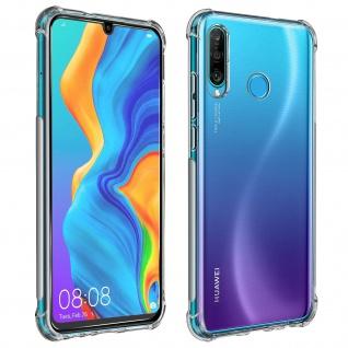 Premium Schutz-Set Huawei P30 Lite/P30 Lite XL Hülle + Schutzfolie - Transparent