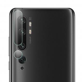 Schutz-Paket: 2x Kameras Folien Xiaomi Mi Note 10 / 10 Pro, by iMak Transparent