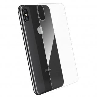 Rückseite Schutzfolie Apple iPhone XS Max, 2.5D voller Schutz - Transparent