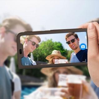 Smart View Flip Cover, Klappetui für Huawei P Smart Plus - Braun - Vorschau 3