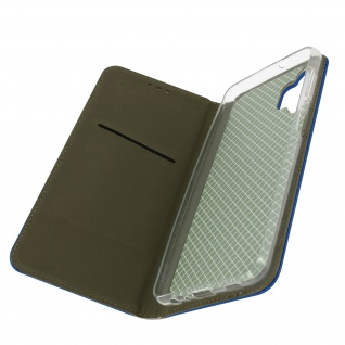 Samsung Galaxy A32 5G Premium Book Cover mit Standfunktion � Dunkelblau