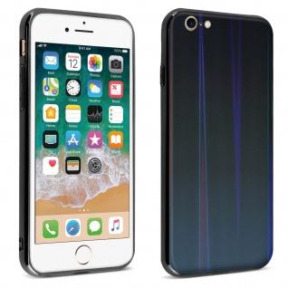 Aurora Series holografische Handyhülle Apple iPhone 7 / 8 / SE 2020 - Schwarz