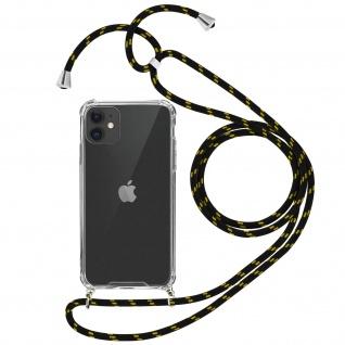 Handykette Handyhülle mit Halsband für Apple iPhone 11 - Gelb