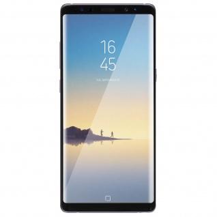 Displayschutzfolie aus Glas für Galaxy Note 8, bruchsicher & kratzfest - Schwarz